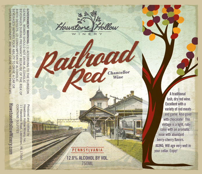 2019 Railroad Red
