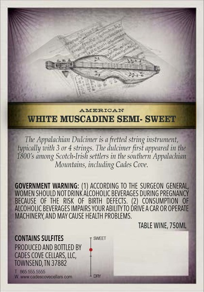 Product Image for 2017 Semi-Sweet White Muscadine