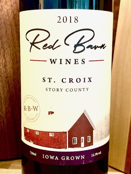 2018 St. Croix -- Red Barn Wines
