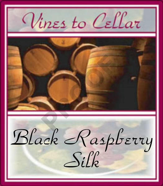 2020 Black Raspberry Silk (Black Raspberry Merlot)