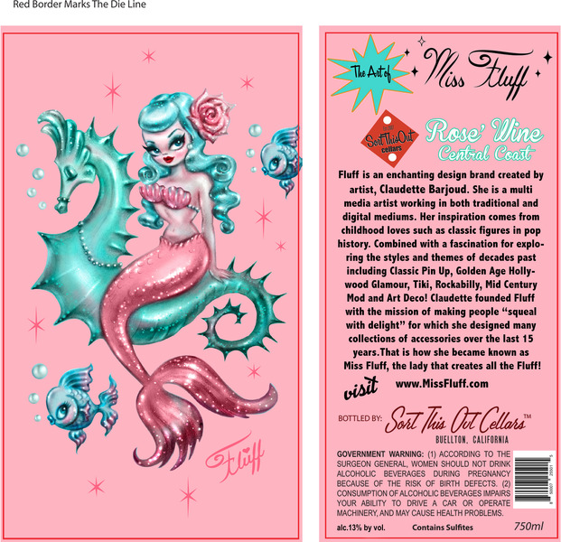 Product Image for Miss Fluff Mermaid Rose