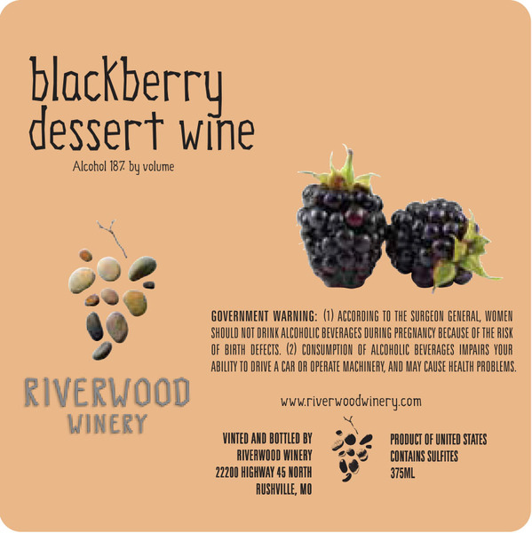 Product Image for Blackberry Dessert Wine