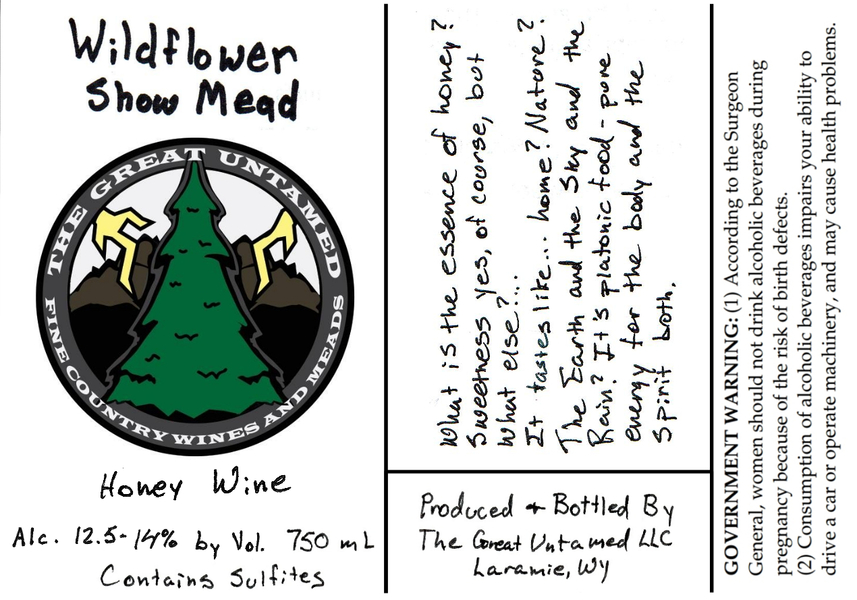 2019 Wildflower Show Mead