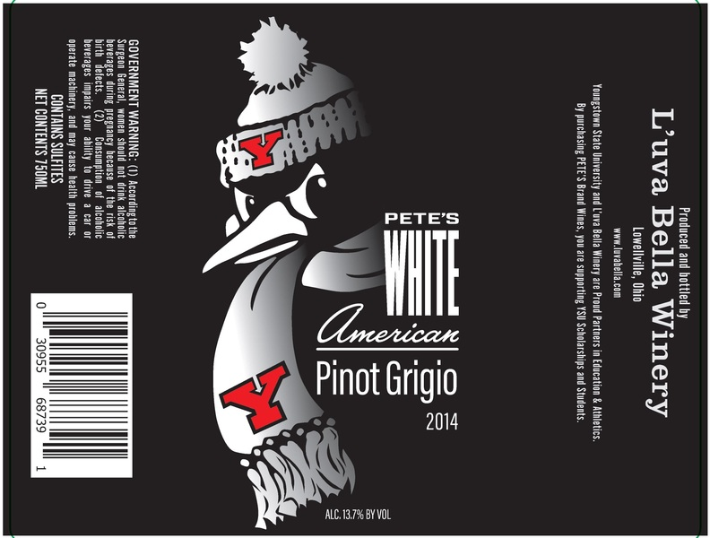 Product Image for YSU Pete's White