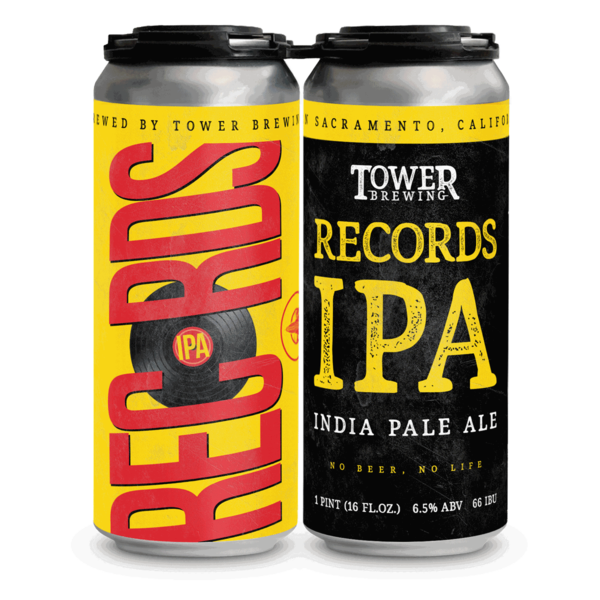 2020 Records IPA 4 Pack
