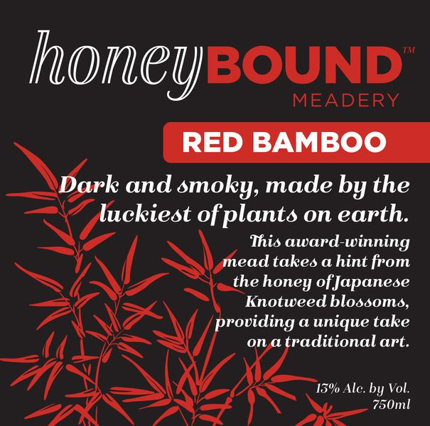 Honey Bound Red Bamboo Mead