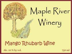 Product Image for Mango Rhubarb Wine