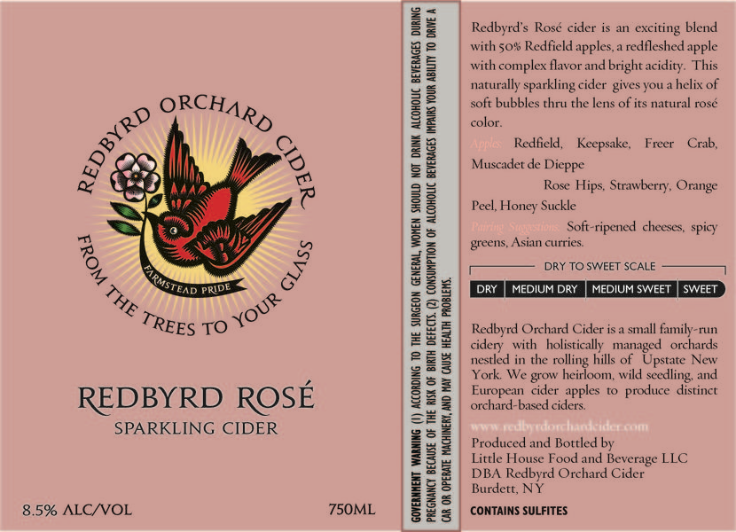 Product Image for 2018 Redbyrd Rosé