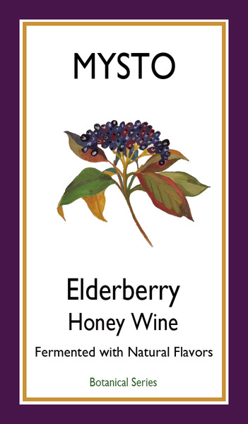 2017 Elderberry Honey Wine