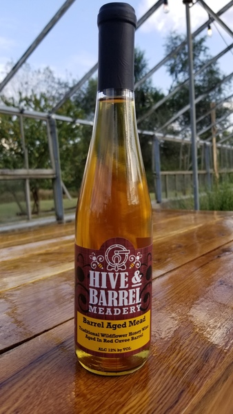 2019 Red Wine Barrel Cuvee Mead