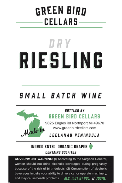 Product Image for 2018 Dry Riesling