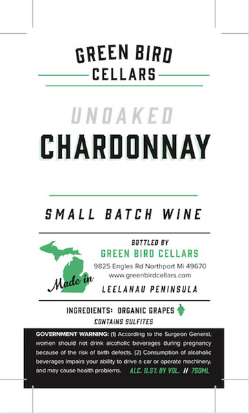 Product Image for 2018 Unoaked Chardonnay
