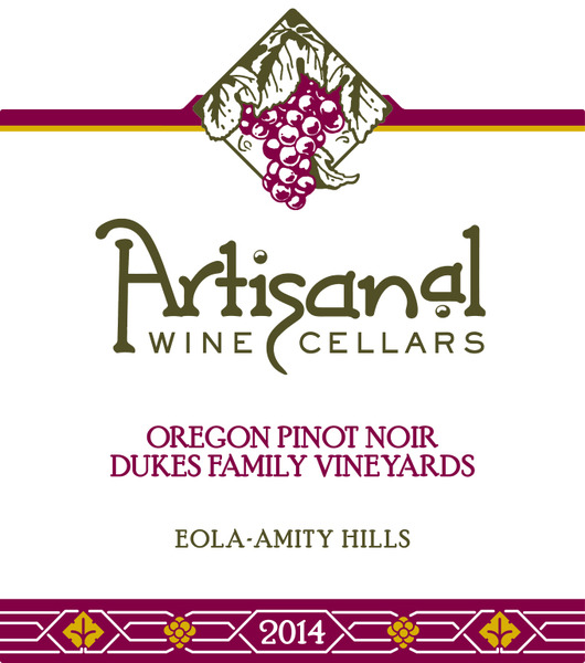 2014 Dukes Vineyard Pinot Noir