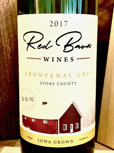 2017 Frontenac Gris -- Red Barn Wines