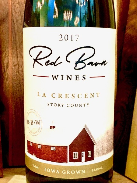 2017 La Crescent -- Red Barn Wines