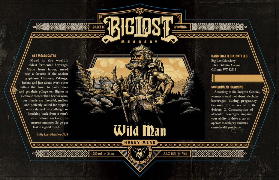 Product Image for 2019 Wild Man Mead