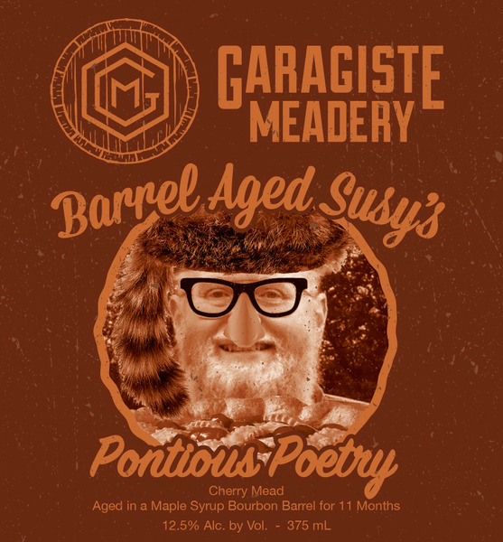 BARREL AGED SUSYS PONTIOUS POETRY