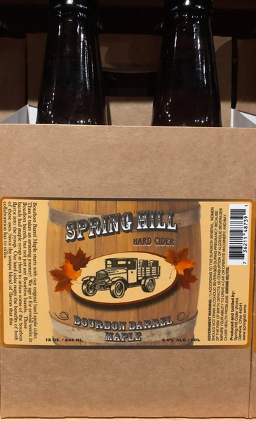 Product Image - 2018 Spring Hill's Bourbon Barrel Maple Hard Cider