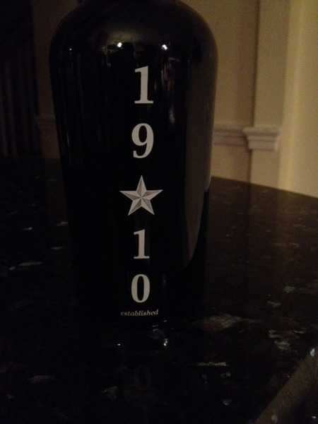 1910 port-style Red Dessert Wine