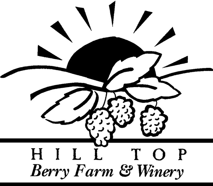 Brand for Hill Top Berry Farm and Winery