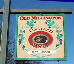 Logo for Old Millington Winery