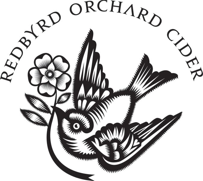 Logo for Redbyrd Orchard Cider