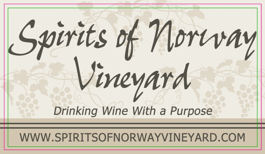 Brand for Spirits of Norway Vineyard
