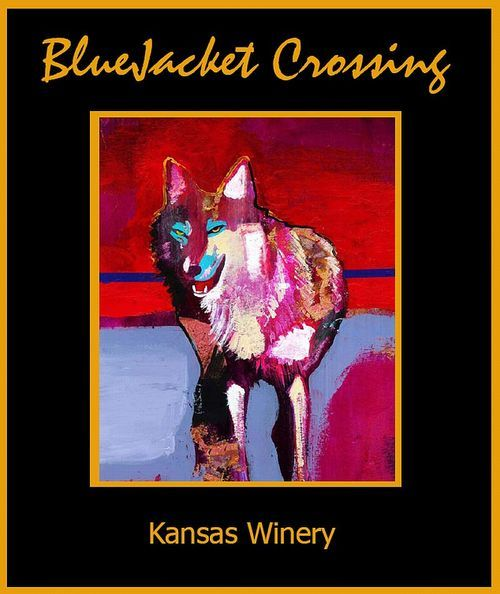 Logo for BlueJacket Crossing Vineyard & Winery