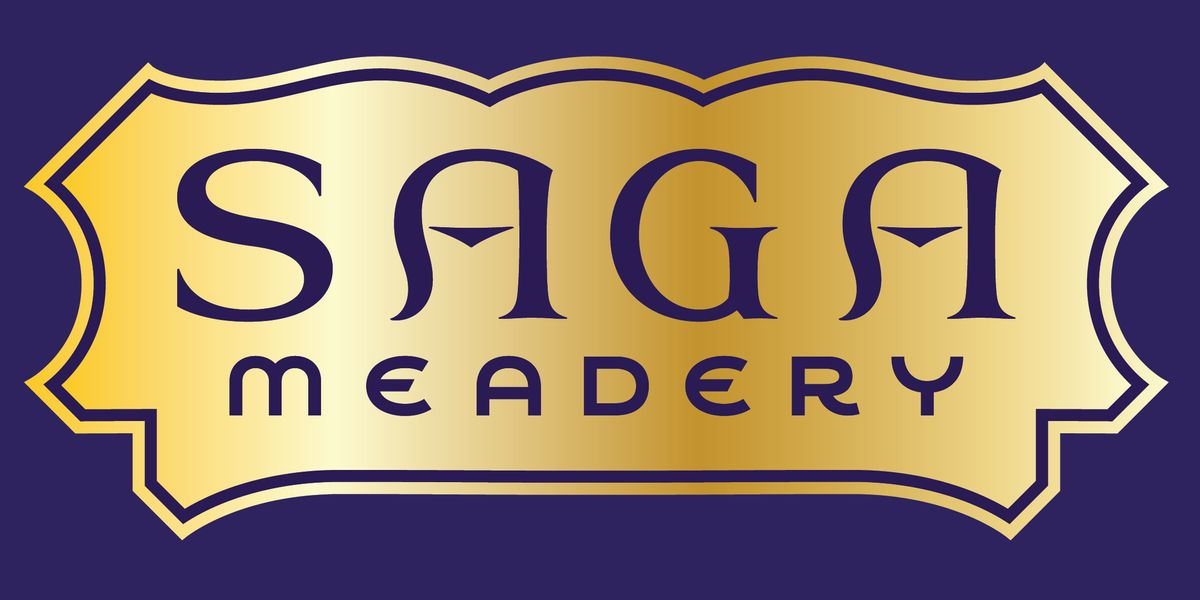Brand for Saga Meadery