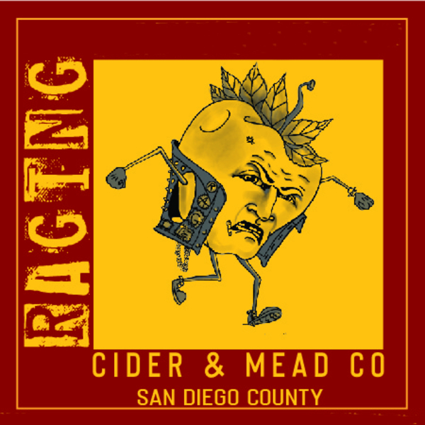 Brand for Raging Cider & Mead Co