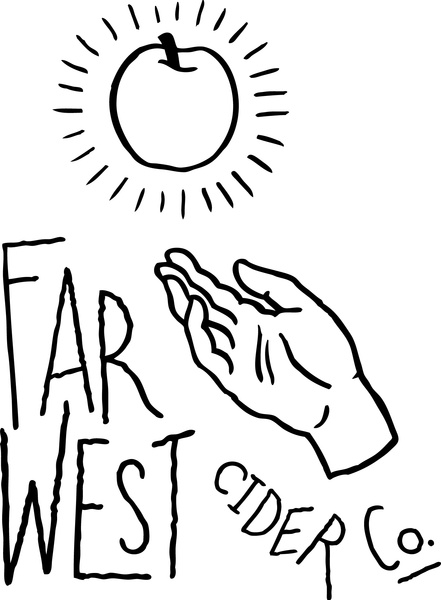 Brand for The Far West Cider Company