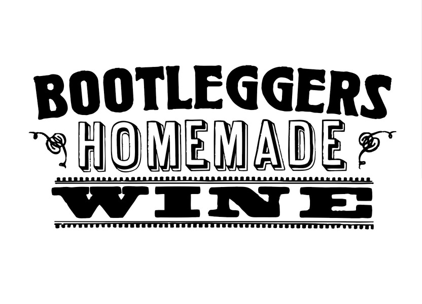 Logo for Bootleggers Homemade Wine