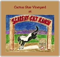 Logo for Scaredy Cat Ranch