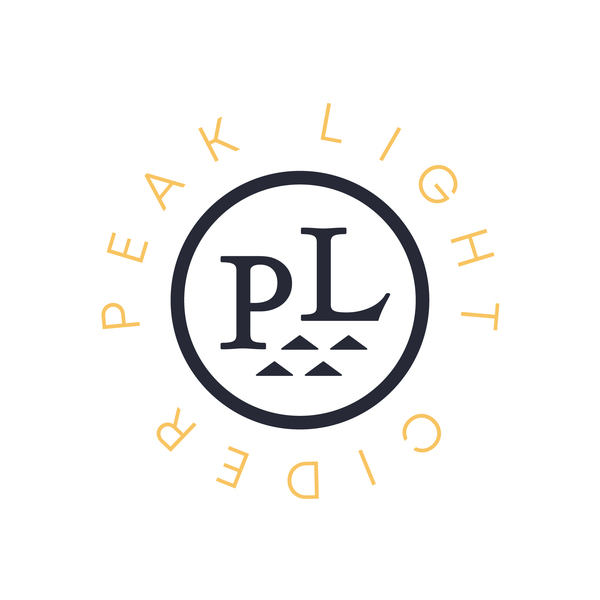 Brand for Peak Light Cider Co