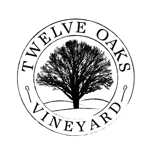 Logo for Twelve Oaks Vineyard