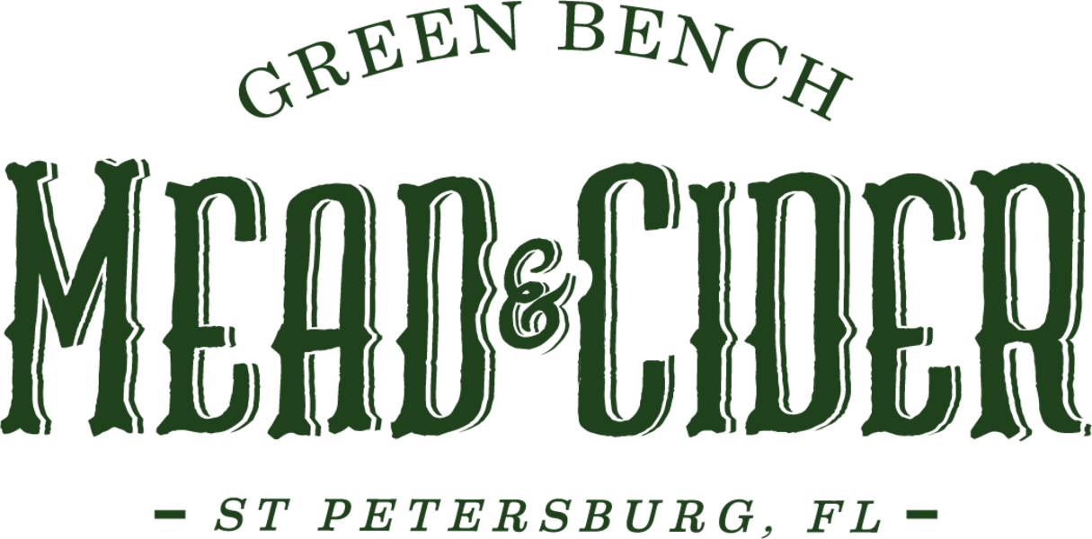 Brand for Green Bench Mead & Cider
