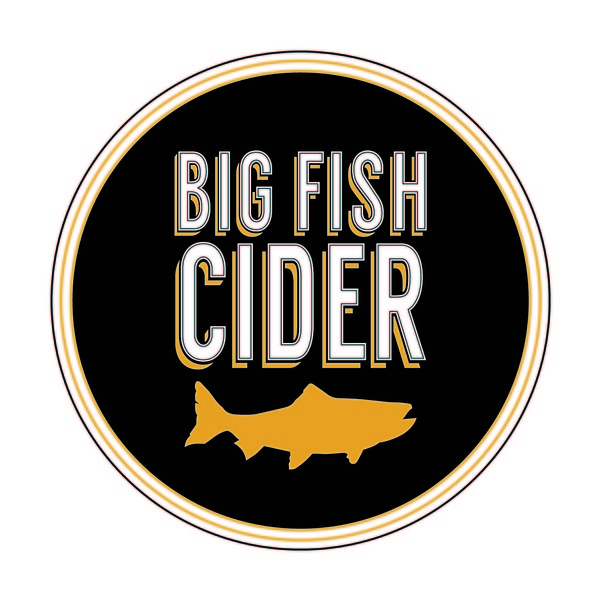 Brand for Big Fish Cider, Co.