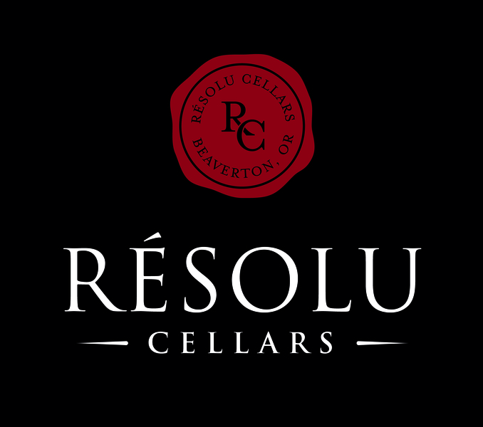 Brand for Résolu Cellars