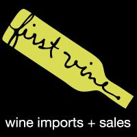 Logo for First Vine Wine Imports and Sales