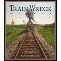 Brand for Train Wreck Winery