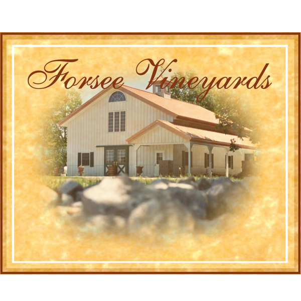Logo for Forsee Vineyards and Winery