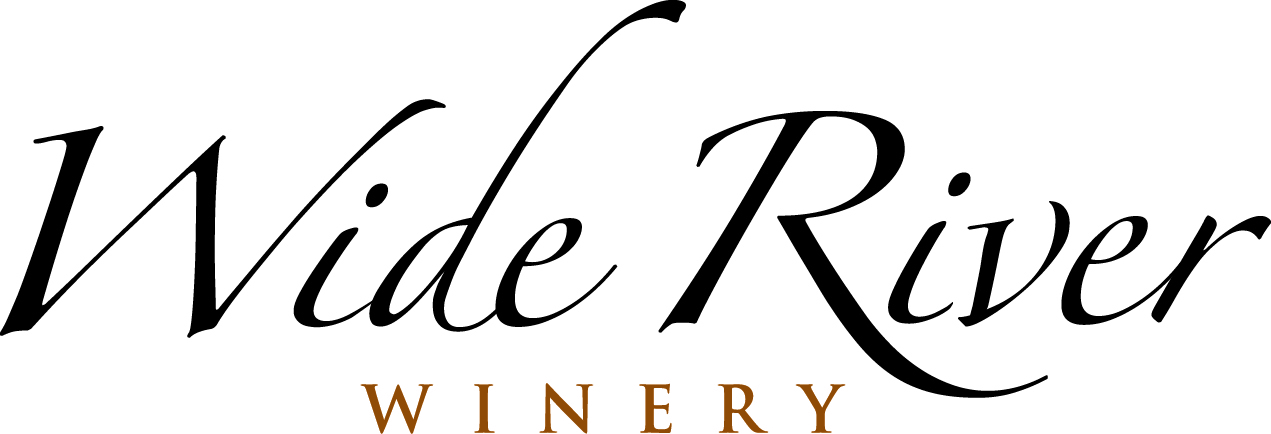 Logo for Wide River Winery