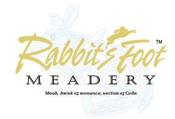 Logo for Rabbit's Foot Meadery