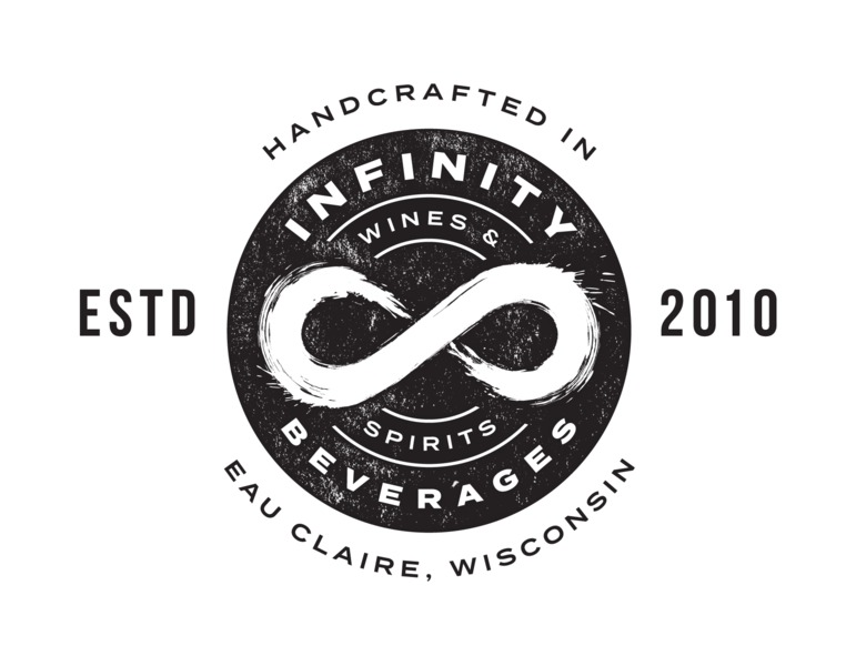Logo for Infinity Beverages Winery & Distillery