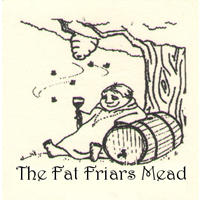 Logo for The Fat Friar's Meadery