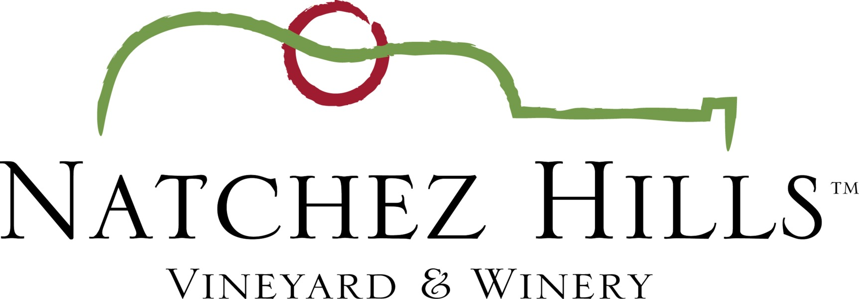 Brand for Natchez Hills Vineyard