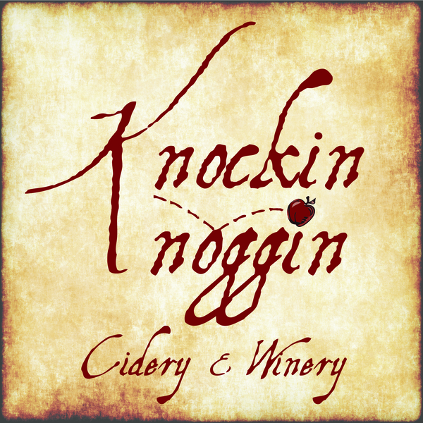 Brand for Knockin Noggin Cidery and Winery
