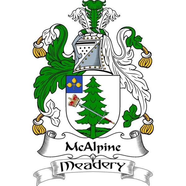 Logo for McAlpine Meadery