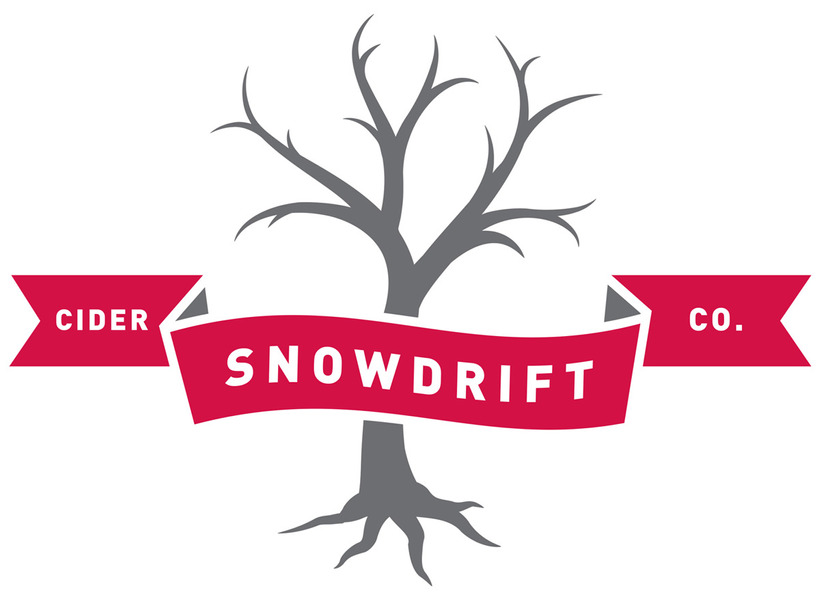 Brand for Snowdrift Cider Co.