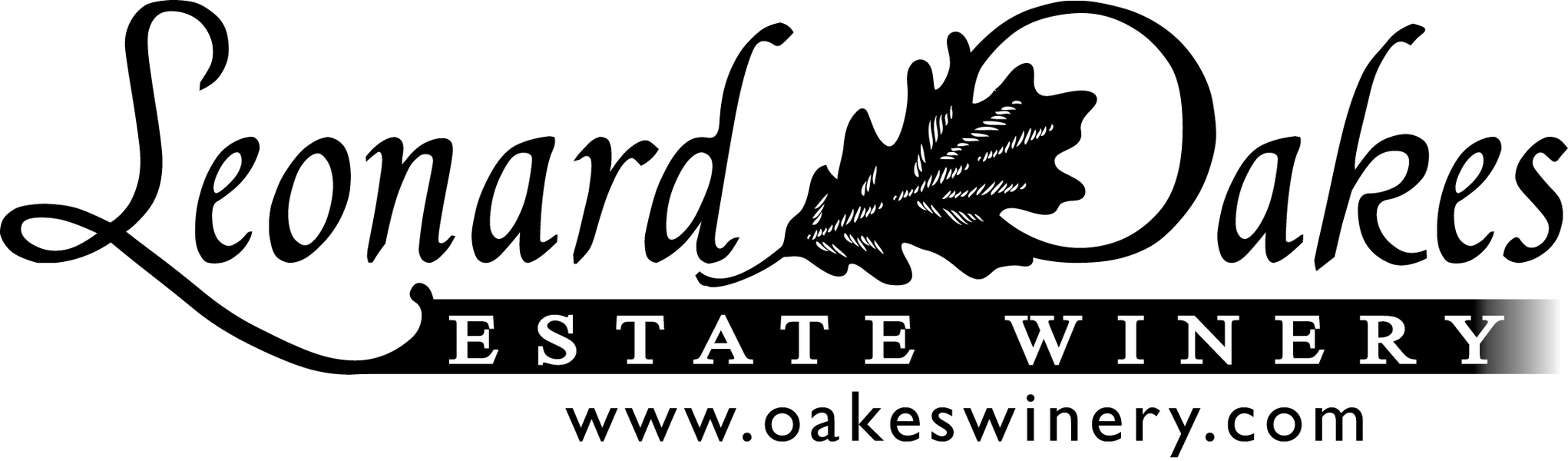 Logo for Leonard Oakes Estate Winery
